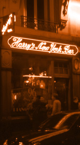 Harry's New York Bar in Paris, September 2008.
