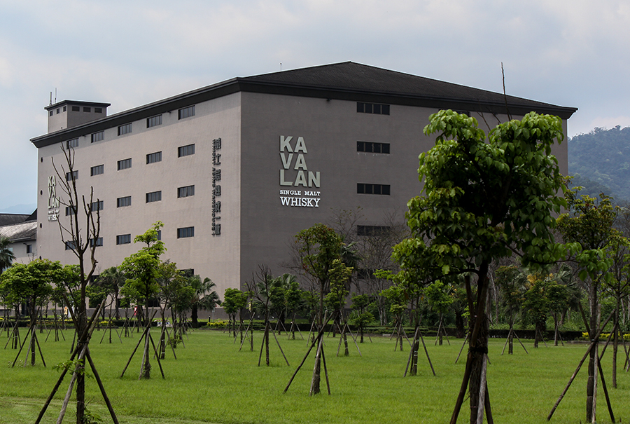 The King Car Distillery in Yi-Lan, Taiwan, home of Kavalan Single Malt Whisky. Photo © 2011 by Mark Gillespie.