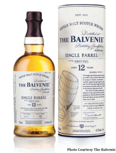 The Balvenie 12 Single Barrel.