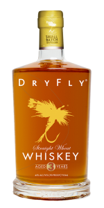 Dry Fly Wheat Whiskey. Image courtesy Dry Fly Distilling.