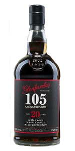 Glenfarclas 105 20 Years Old. Image courtesy Glenfarclas.