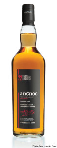 An Cnoc 22-year-old Highland Single Malt Scotch Whisky.
