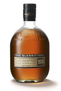 The Glenrothes 1978 Vintage.