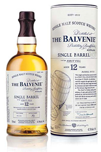 The Balvenie 12 Single Barrel