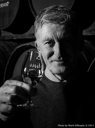 Midleton Distillery Master Distiller Barry Crockett.