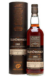 The Whisky Exchange's GlenDronach 1995 single cask bottling.