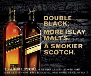 Johnnie Walker Black Label & Double Black.