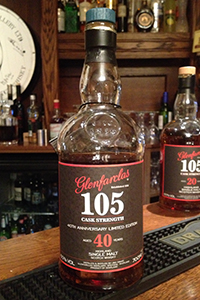 The Glenfarclas 105 40th Anniversary. Photo ©2013 by Mark Gillespie.