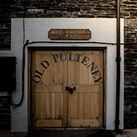 A warehouse at Old Pulteney Distillery in Wick, Scotland. Photo © 2011 by Mark Gillespie.