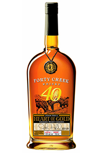 Forty Creek Heart of Gold. Image courtesy Forty Creek Distillery.