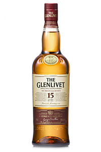 The Glenlivet 15 French Oak Reserve. Image courtesy Chivas Brothers.