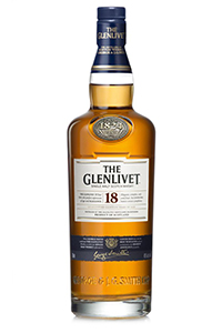The Glenlivet 18. Image courtesy Chivas Brothers.
