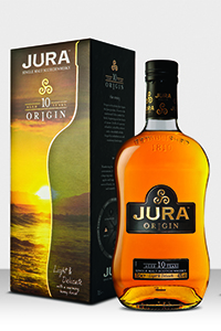 Jura 10 Year Old Origin. Image courtesy Whyte & Mackay.