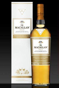 The Macallan Gold. Image courtesy The Macallan.