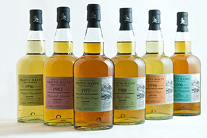 The Wemyss Malts Spring 2013 Range. Photo courtesy Wemyss Malts.