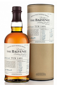 The Balvenie Tun 1401 Batch #8. Image courtesy The Balvenie.