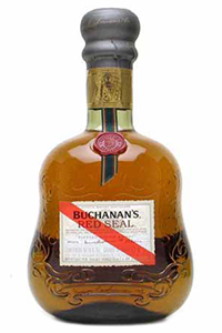 Buchanan's Red Seal Blended Scotch Whisky. Image courtesy Diageo.