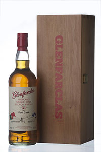 Glenfarclas 31 Port Cask Matured. Image courtesy Glenfarclas.