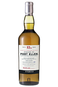 Port Ellen 12th Release (2012). Image courtesy Diageo.