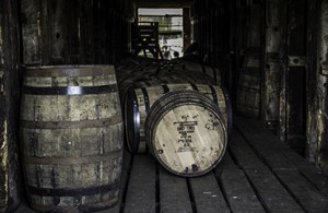 Whisky Maturing in a Willett Distillery Warehouse in Bardstown, Kentucky. Photo ©2012 by Mark Gillespie.