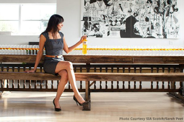 SIA Scotch Founder Carin Luna-Ostaseski. Photo by Sarah Peet Courtesy of SIA Scotch.