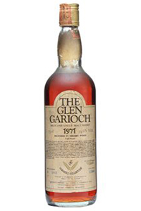 Samaroli's 1971 Glen Garioch Single Malt Scotch. Image courtesy The Whisky Exchange.