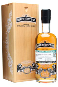 Director's Cut Highland Park 27 Single Malt Scotch. Image courtesy Douglas Laing & Co.