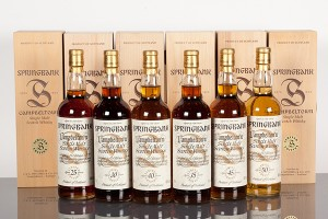 The Springbank Millennium Collection auctioned at McTear's on June 26, 2013. Image courtesy McTear's.