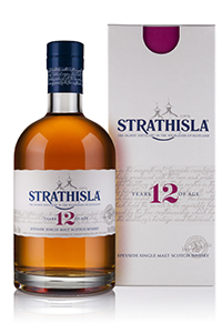 The new bottle and packaging for Strathisla 12. Image courtesy Chivas Brothers.