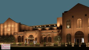 An architect's rendering of the Angel's Envy Distillery to be built in downtown Louisville. Image courtesy Louisville Distilling Co.