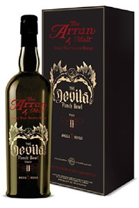 Arran Angels & Devils Single Malt. Image courtesy Isle of Arran Distillers.
