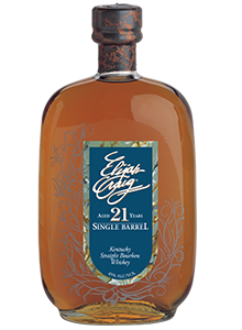 Elijah Craig 21-Year-Old Single Barrel Bourbon. Image courtesy Heaven Hill.