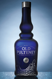 Old Pulteney 40 Single Malt Scotch Whisky. Image courtesy Old Pulteney.
