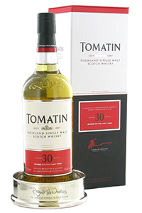Tomatin 30, winner of the 2012 & 2013 Spirit of Whisky Fringe Awards. Image courtesy Royal Mile Whiskies.