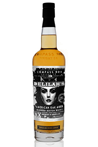 Compass Box Delilah's Blended Scotch Whisky. Image courtesy Compass Box.