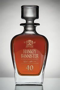 Hankey Bannister 40-Year-Old Blended Scotch. Image courtesy Hankey Bannister.