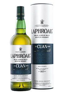 Laphroaig's An Cuan Mór Single Malt Scotch. Image courtesy Laphroaig/Beam.