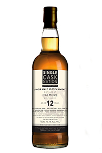 Single Cask Nation Dalmore 12. Image courtesy Single Cask Nation/Jewish Whisky Company.
