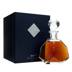 The Glenfarclas 1953 Coronation Decanter. Image courtesy Speciality Drinks, Ltd.