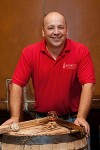 Brian Prewitt, master distiller at Virginia's A. Smith Bowman Distillery. Image courtesy A. Smith Bowman Distillery.