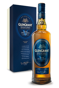Glen Grant Five Decades Single Malt. Image courtesy Campari/Glen Grant.