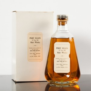 Port Ellen Commemorative Bottling from August 9, 1980. Image courtesy McTear's.