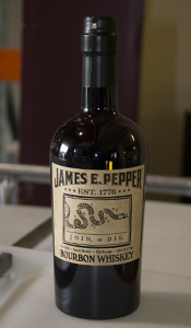 James E. Pepper Bourbon. Image ©2013 by Mark Gillespie.