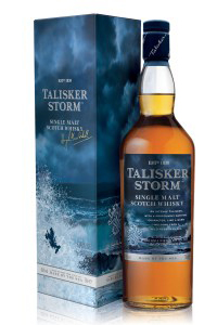 Talisker Storm Single Malt Scotch Whisky. Image courtesy Diageo.