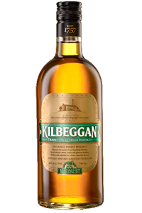 Kilbeggan Irish Whiskey. Image courtesy Kilbeggan.