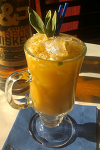 "Alexa Bowler's ""You'd Have To be Nutty Not To"" cocktail at Cowboy Ciao in Scottsdale, Arizona. Image courtesy Cowboy Ciao."