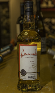 Benromach 2005 Single Cask #126 bottled for the Kensington Wine Market. Image ©2013 by Mark Gillespie.