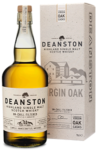 Deanston Virgin Oak. Image courtesy Burn Stewart Distillers.
