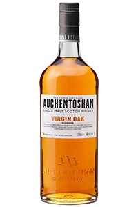 Auchentoshan Virgin Oak. Image courtesy Morrison Bowmore Distillers.