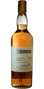 Cragganmore 29 Special Edition. Image courtesy Diageo.